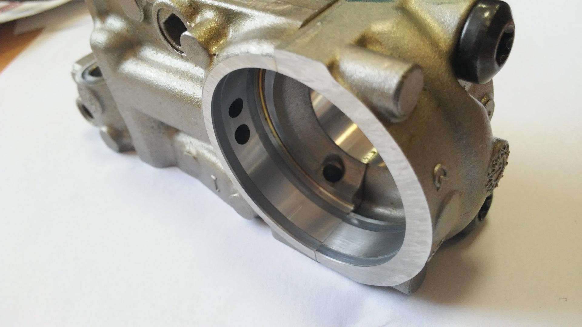 Выработка постели впускного распредвала двигателя EP6